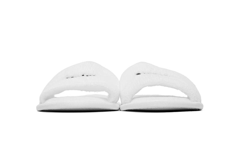 Palm Angels Logo Hotel Slippers Cotton-Blend Shoes