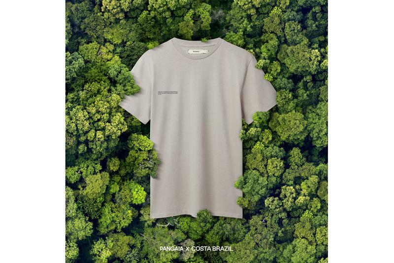 costa brazil pangaia amazon rainforest forever collaboration eco-friendly hoodies t-shirts release price