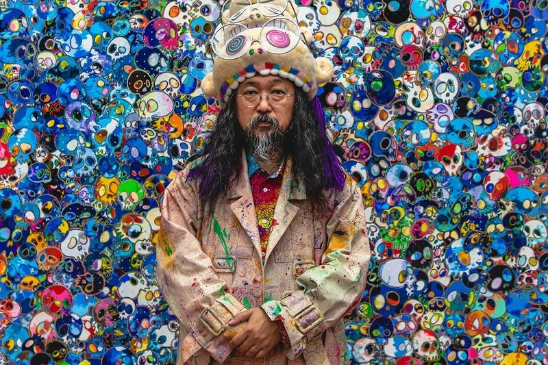 Takashi Murakami Artist Art Portrait