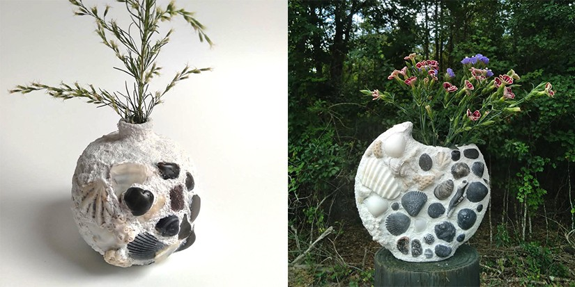 Reaper Goods' Seashell-Embellished Vases Are a Home Decor Essential
