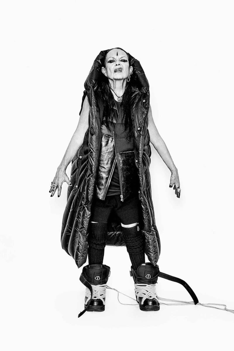 Rick Owens Michele Lamy Moncler Genius Tour Fashion Talks Conversation Outerwear Lookbook