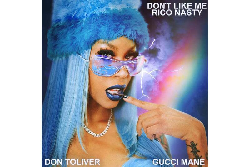 Rico Nasty Don't Like Me Gucci Mane Don Toliver Cover Art