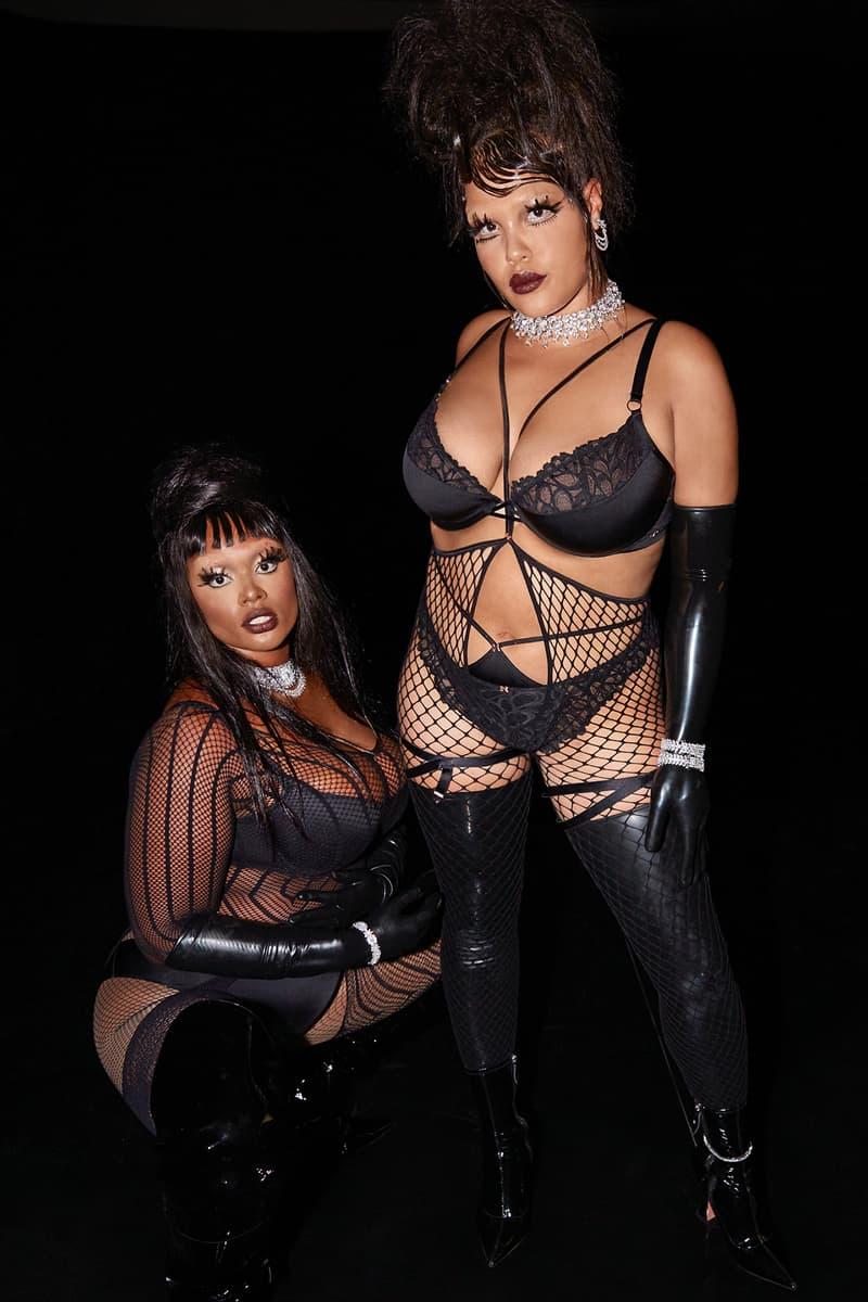 Savage X Fenty Rihanna Show Vol 2 Lingerie Black Widow Precious Alva Claire