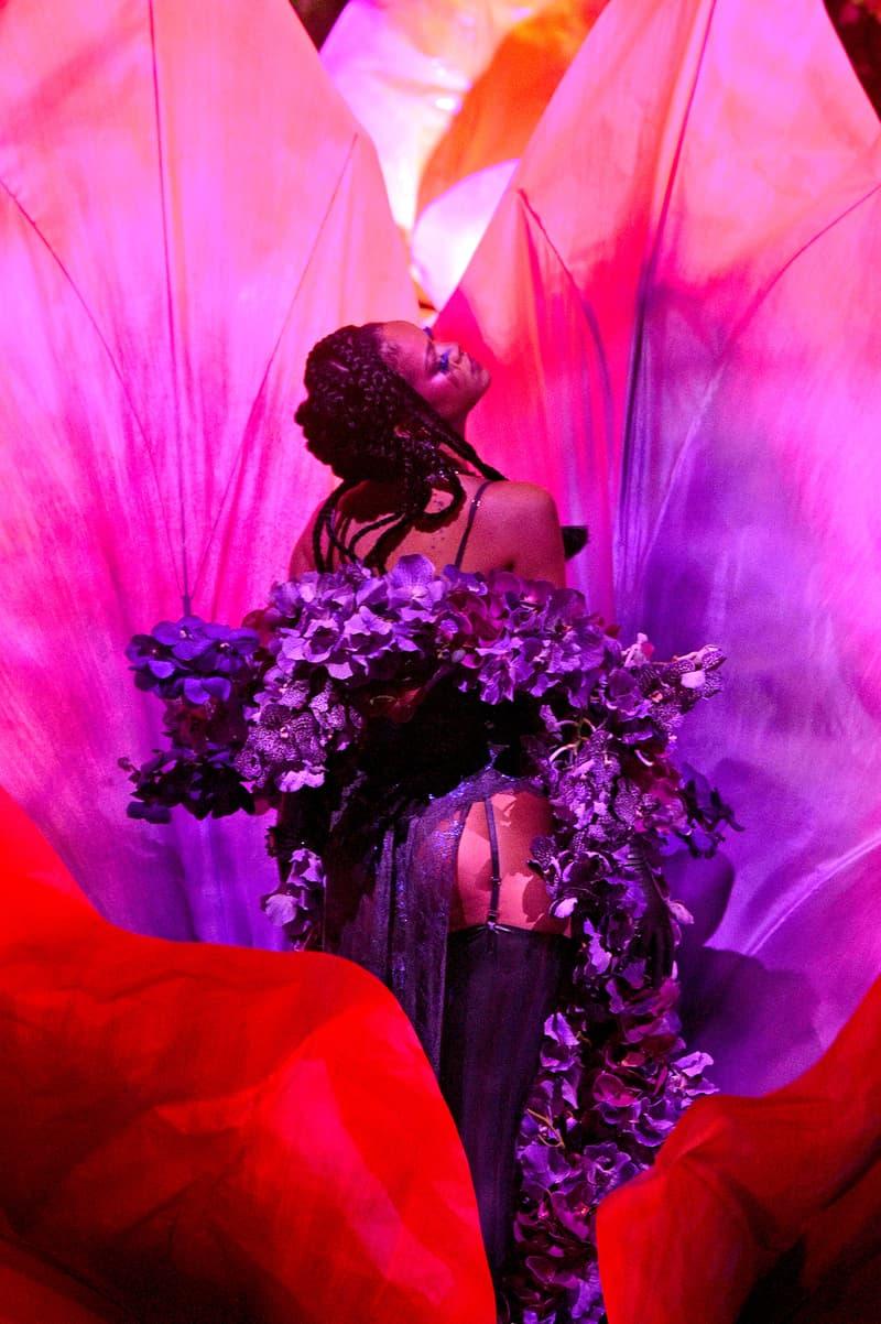 Rihanna Savage X Fenty Show Vol 2 Flower Floral Lingerie