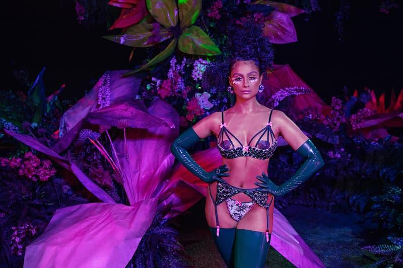 Savage X Fenty Rihanna Show Vol 2 Floral Lingerie Nazanin