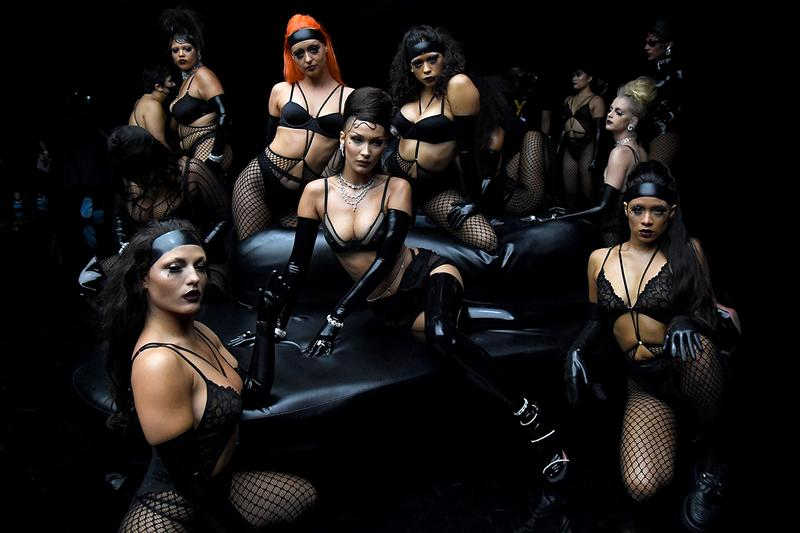 Savage X Fenty Rihanna Show Vol 2 Lingerie Black Widow Alva Claire Bella Hadid Abby Champion Jaida Essence Hall