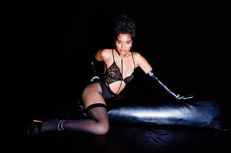 Savage X Fenty Rihanna Show Vol 2 Lingerie Black Widow Indya Moore