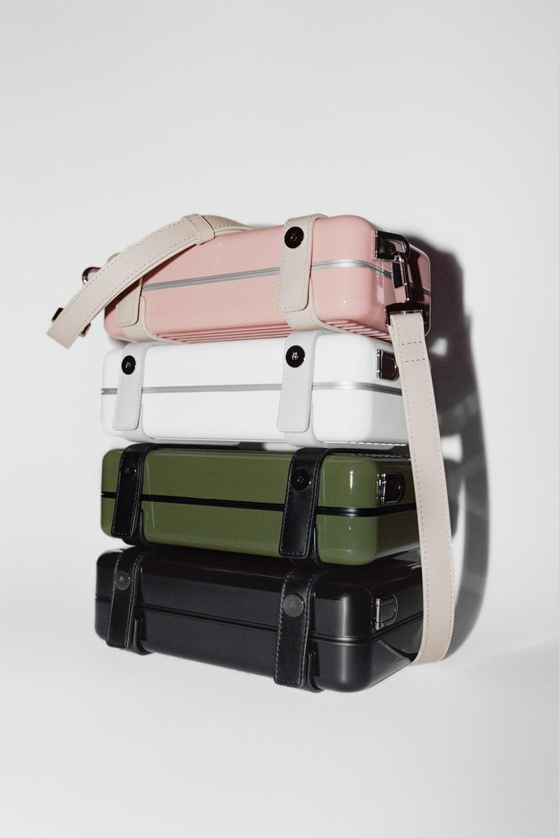 RIMOWA Personal Case Clutch Bag Release Date Metal Pouch Cactus Desert Rose Black White Colorways