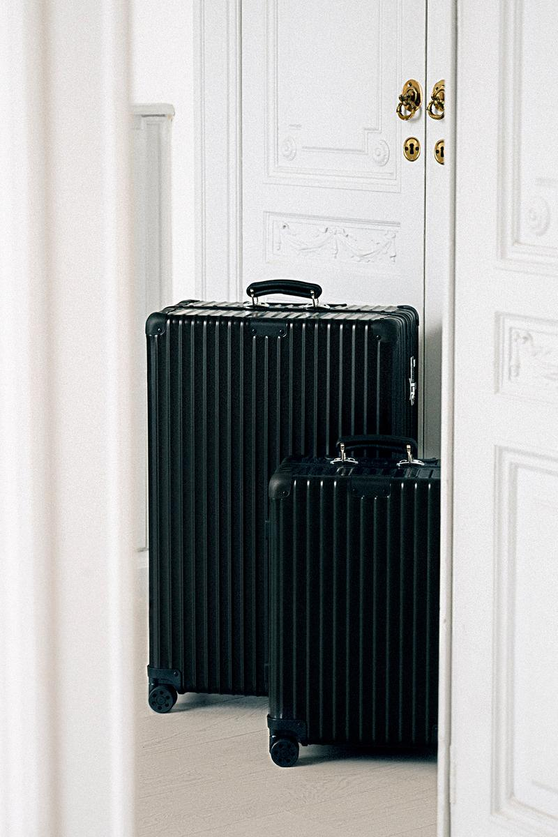 RIMOWA Classic Silver Suitcase Raspberry Cactus Handle Wheels UNIQUE