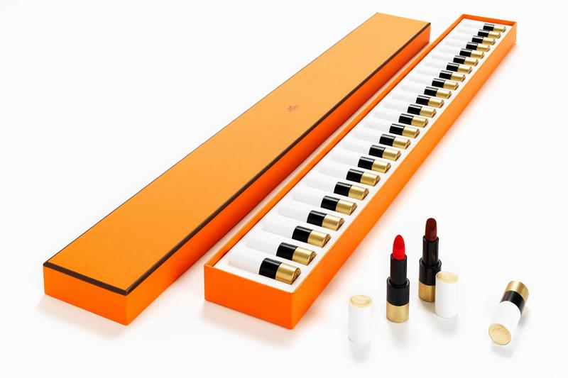 hermes beauty rouge lipsticks piano 24 colors luxury makeup price release