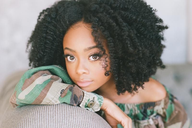 Skai Jackson First-Time Voter US Election Experience Joe Biden Donald Trump Young Voters Importance