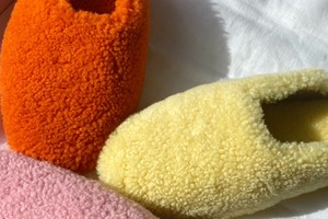 Picture of Sleeper Launches Shearling Slippers in Bright New Colorways