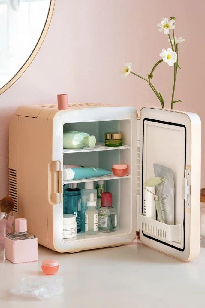 Smoko Bubble Tea Mini Skincare Fridge Accessory Storage Products