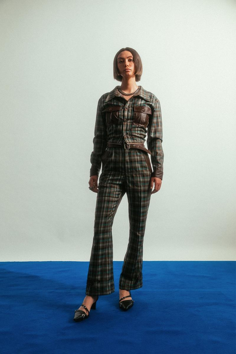 tsingtao beer social work nyc fashion collaboration unisex jumpsuits sweaters dresses emerging designers