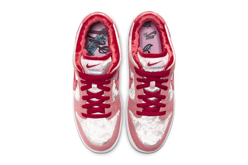 strangelove skateboards nike sb dunk low melon pink red restock date price info
