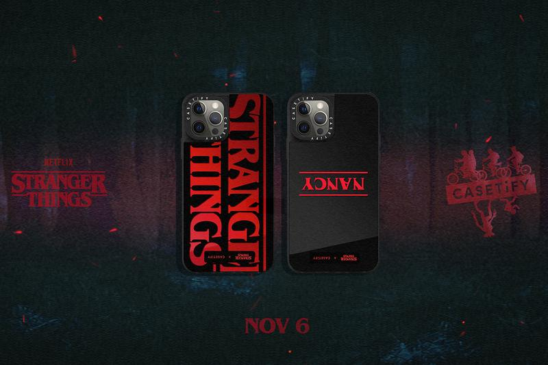 Stranger Things x Casetify Phone Case Collaboration Collection iPhone