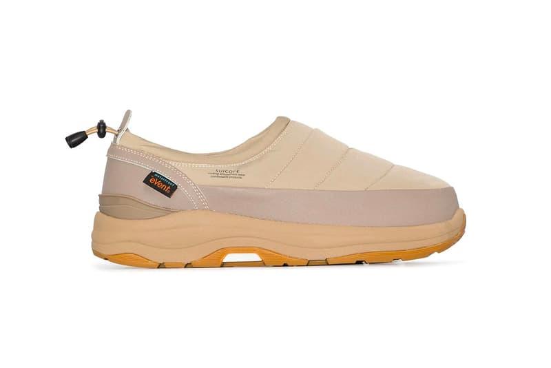 Suicoke Pepper Padded Slip-On Shoe Sneaker Beige