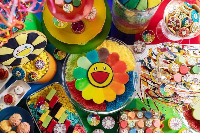 Takashi Murakami Afternoon Tea Tokyo Grand Hyatt Hotel Cake Cookies