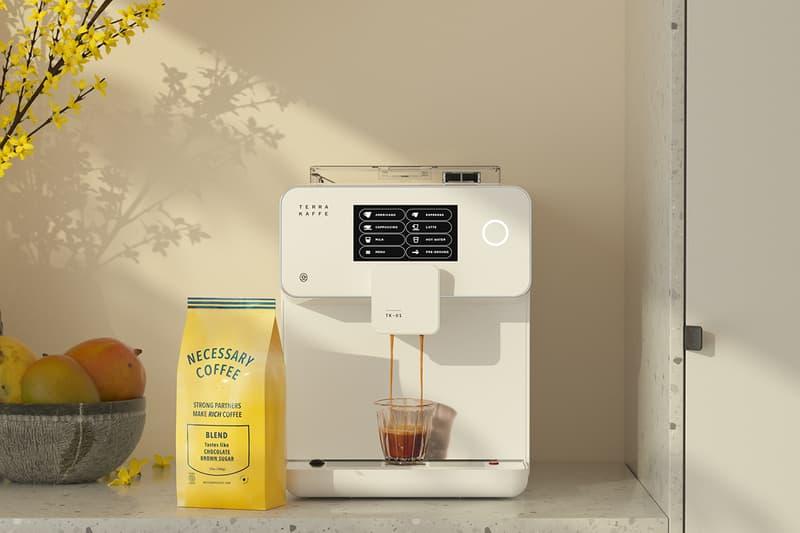 Terra Kaffe TK-01 Espresso Machine Coffee Maker White