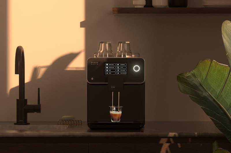 Terra Kaffe TK-01 Espresso Machine Coffee Maker Black