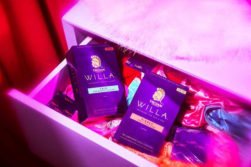 Trojan Condoms Willa Female Women Sexual Wellness Products Collection Vibrator
