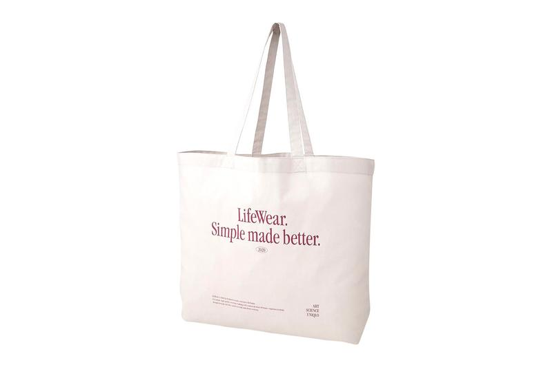 uniqlo lifewear tote bags eco-friendly sustainable cotton canvas price release