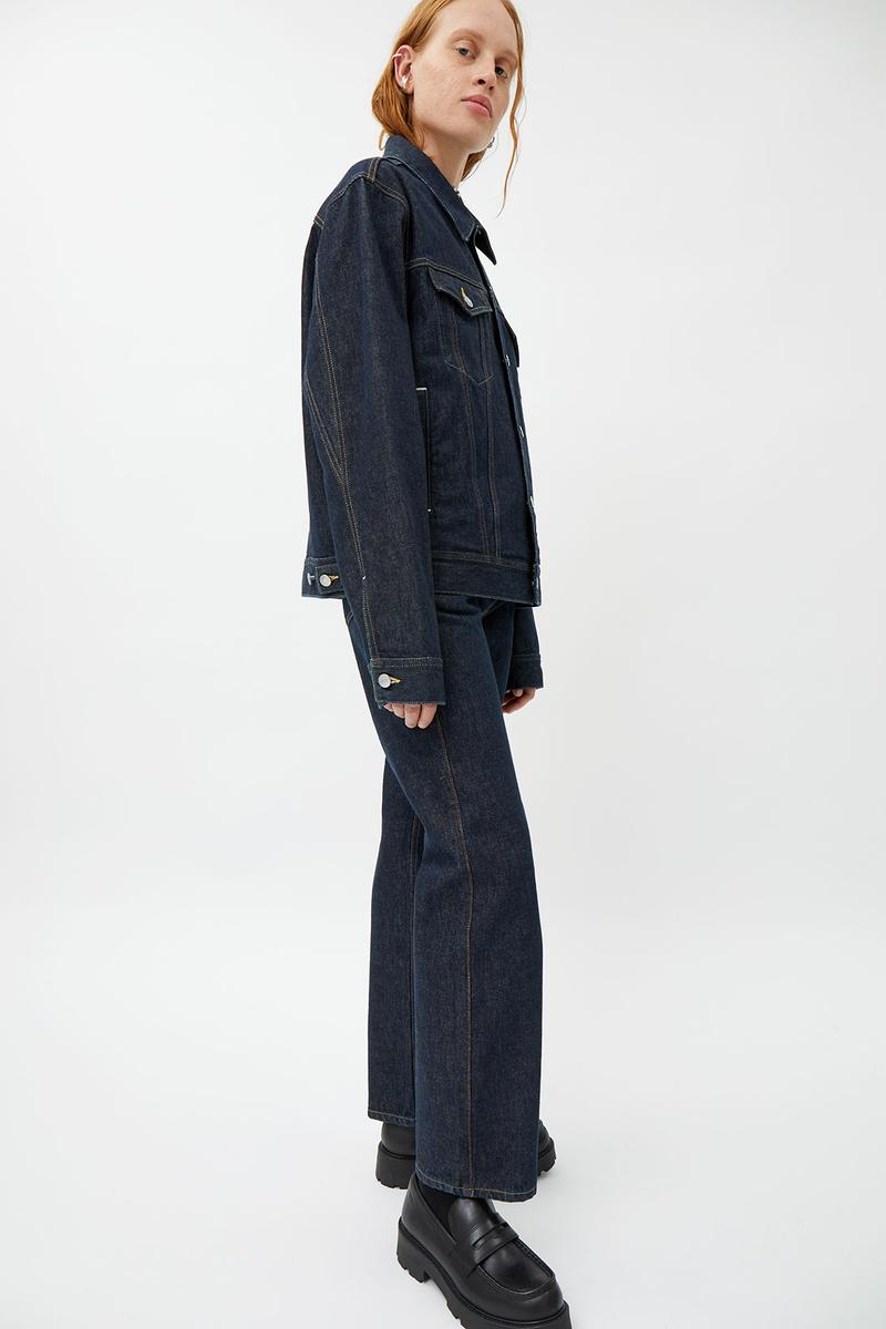 weekday denim jeans jackets sustainable recyclable eco-friendly capsule collection