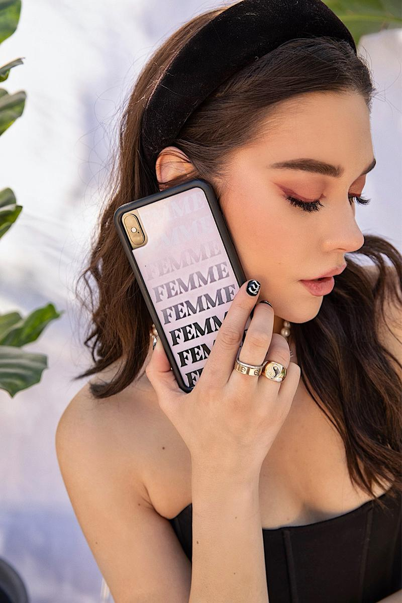 amanda steele wildflower iphone cases collaboration femme release info devon lee sydney carlson