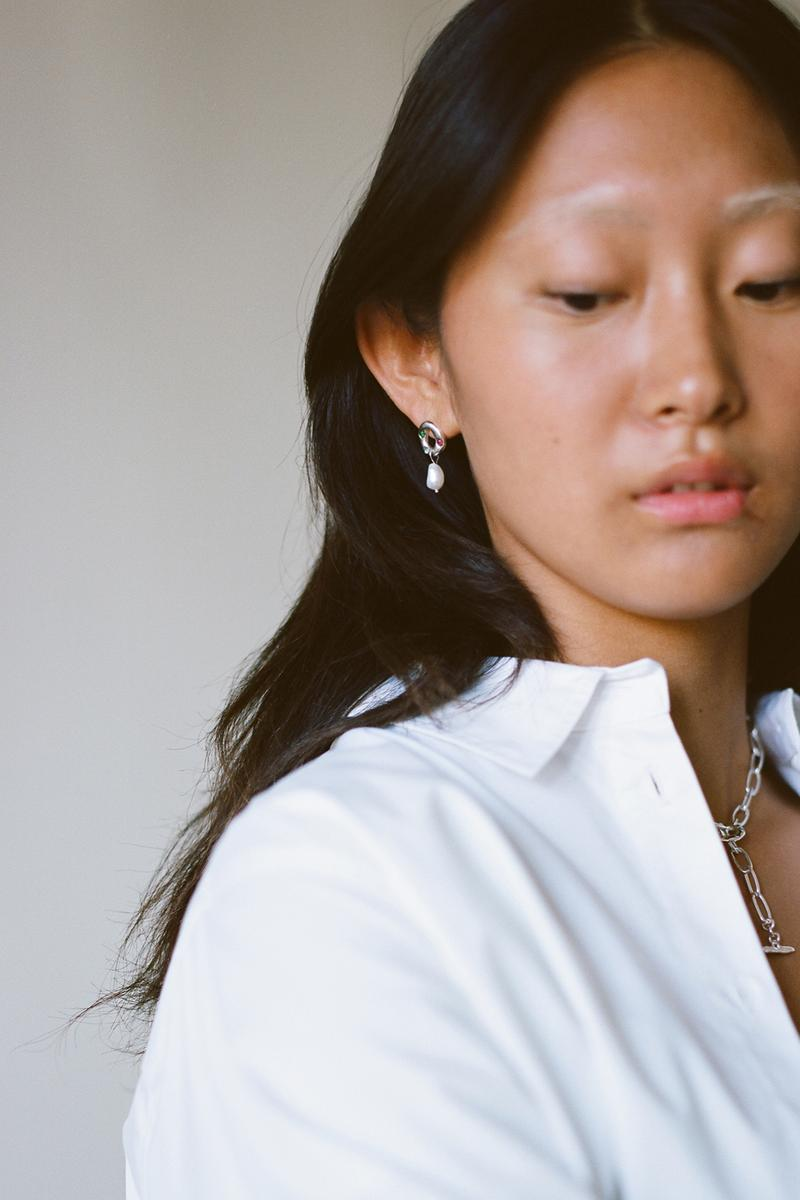 Wolf Circus Fall/Winter 2020 Jewelry Collection Drop 3 Necklace Earrings Ring Pearl Gemstone
