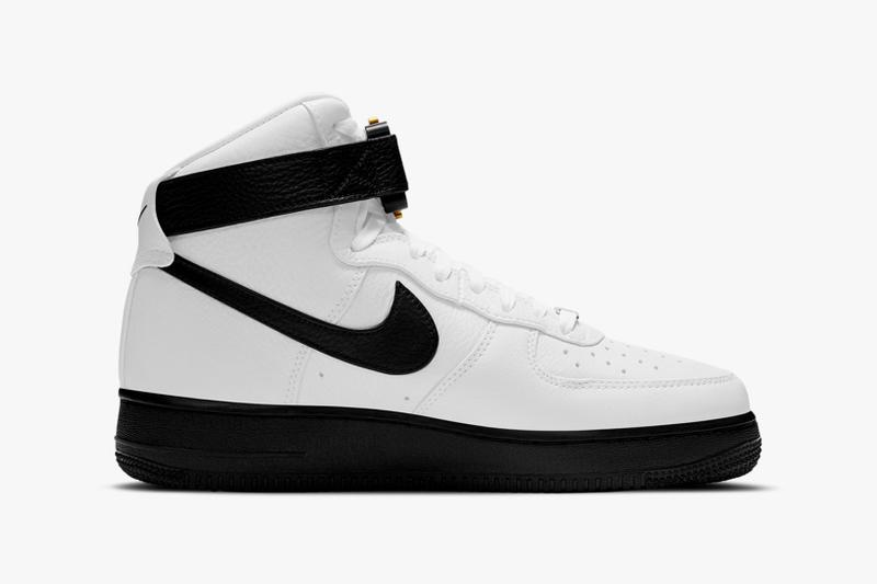 1017 alyx 9sm nike air force 1 af1 high collaboration white black sneakers release date matthew williams