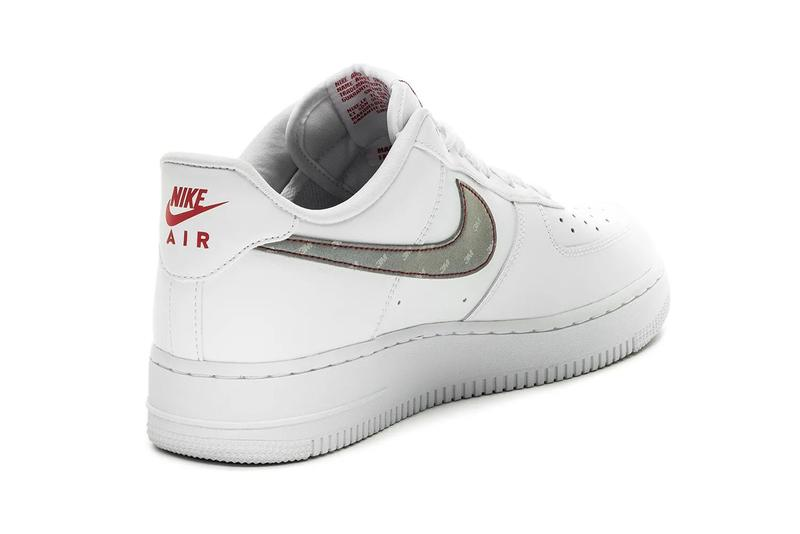 Nike Air Force 1 3M Reflective Silver White