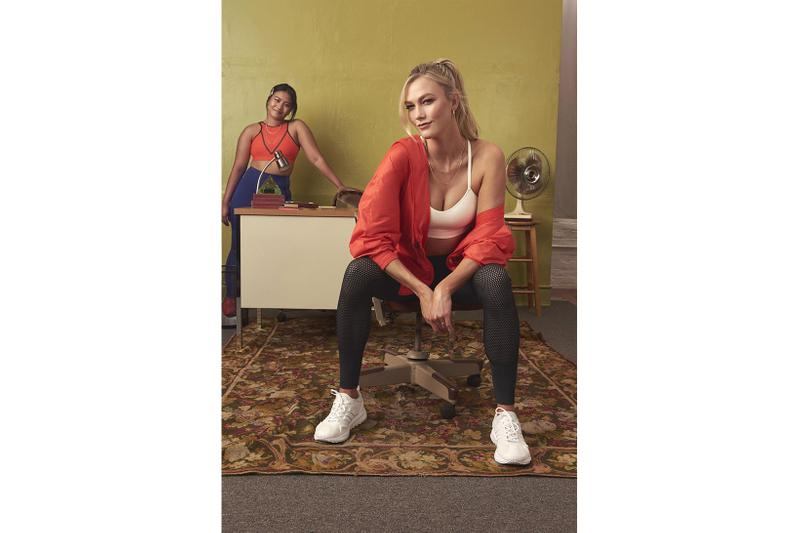 karlie kloss adidas spring summer 2021 bras leggings activewear collaboration release