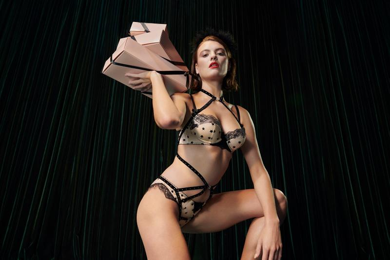 Agent Provocateur Holiday Lingerie Collection Campaign Bra Underwear