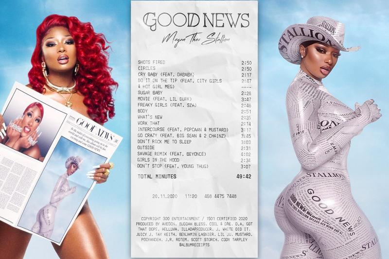 Album Receipts Melody You Instagram Art Project Account Megan Thee Stallion Good News Artwork
