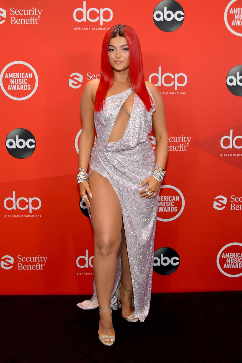 amas american music awards best red carpet looks outfits celebrity style dua lipa ciara jennifer lopez