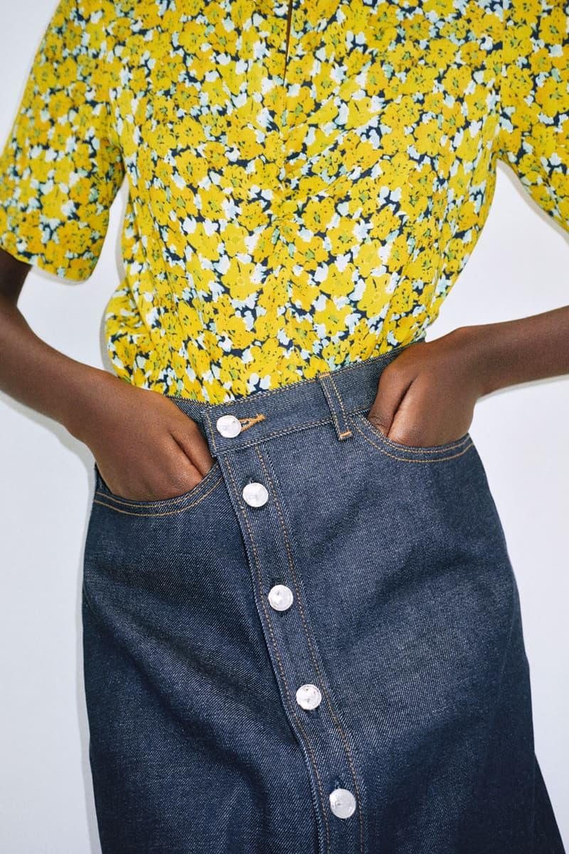 apc spring summer 2021 collection lookbook minimalist jeans denim shirts bags accessories