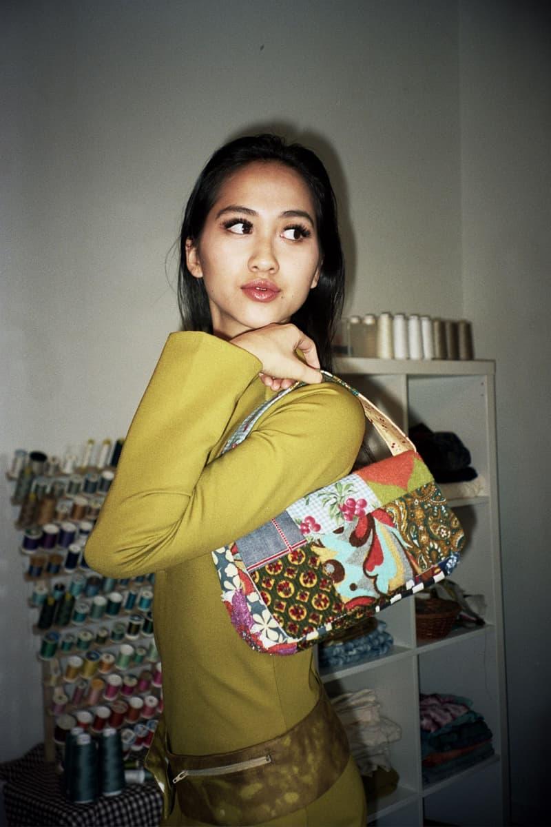 Asata Maisé Sustainable designer fall winter 2020 collection lookbook bag