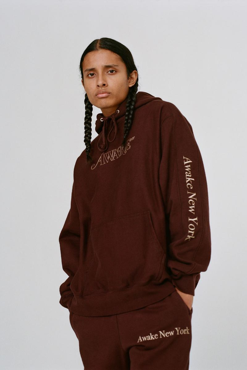 awake ny fall winter collection lookbook hoodies sweats t-shirts sweaters release
