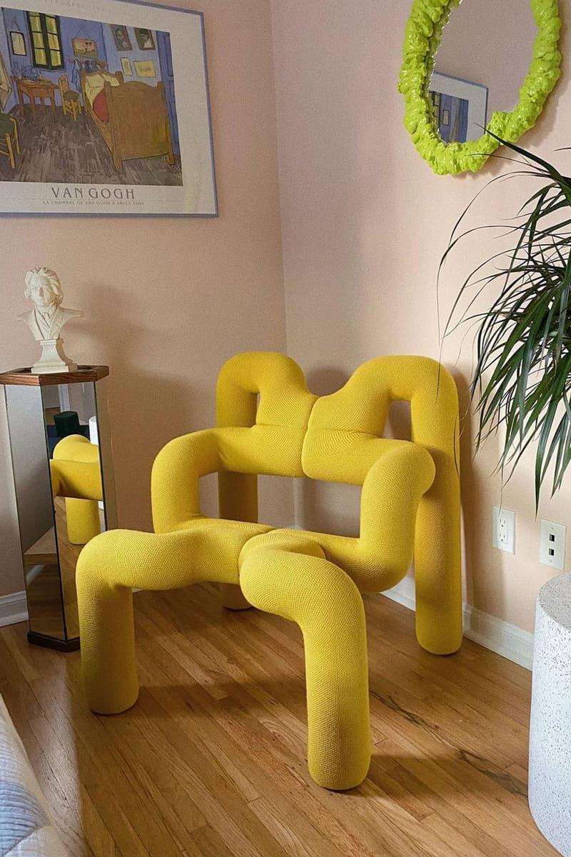 best home accent designer chairs decor interior varier ekstrem yellow mustard sulphur