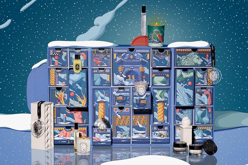 diptyque advent calendar holiday Christmas 2020 perfume candle fragrance