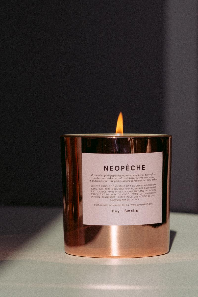 Boy Smells Candle Neopeche Pink
