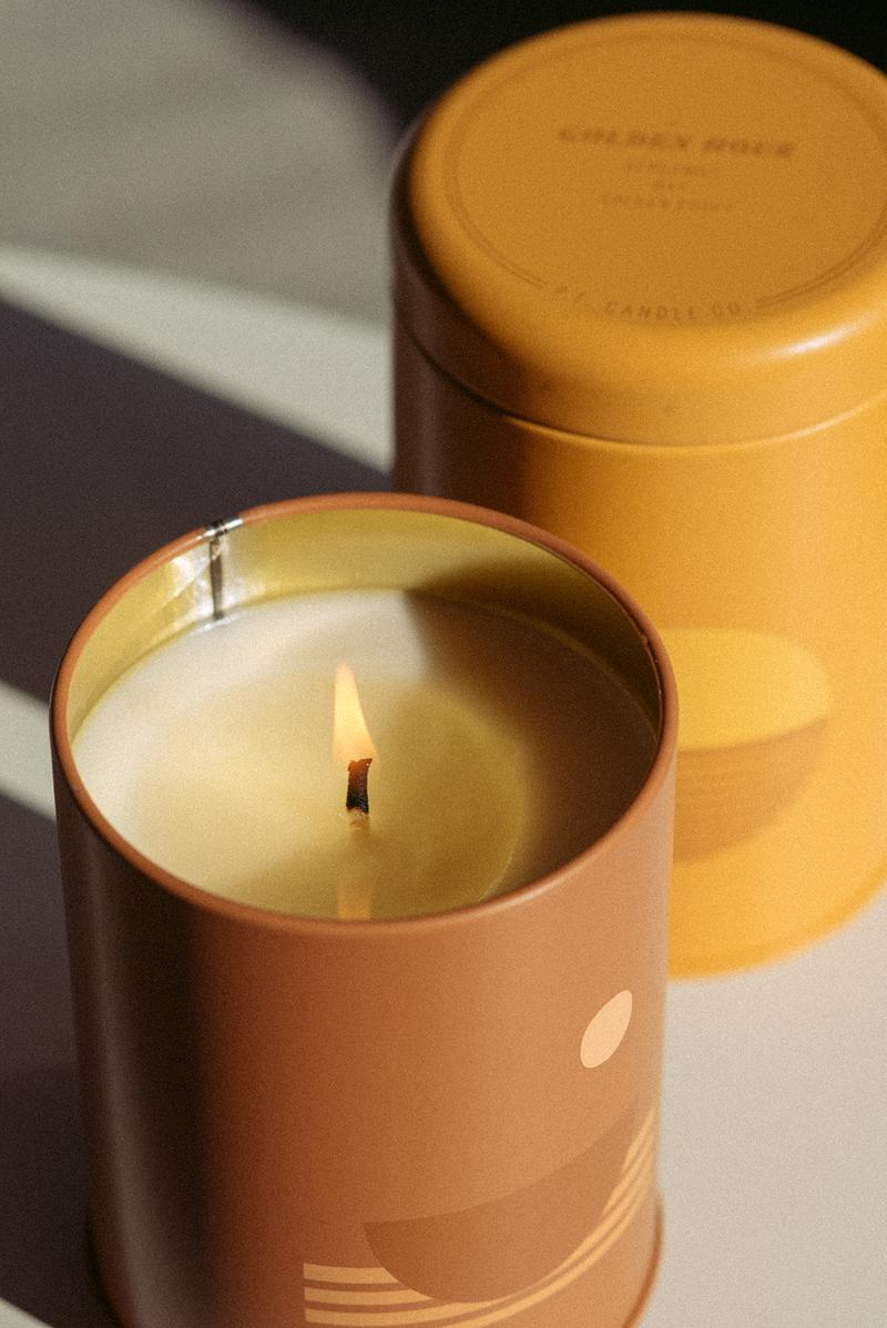 P F Candle Co Swell Sunset Candle Golden Hour