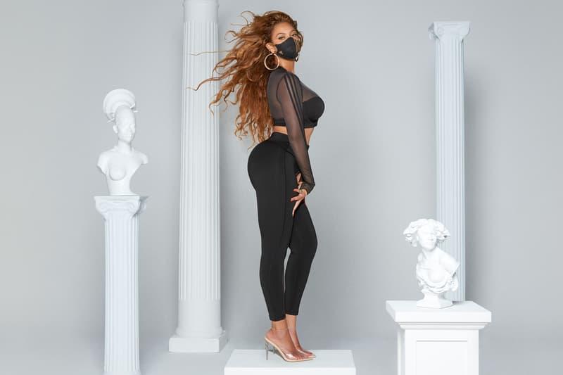 beyonce ivy park adidas collaboration new drop face mask track pants leggings jackets suits