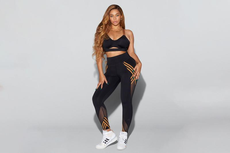 beyonce ivy park adidas collaboration new drop face mask track pants leggings jackets suits