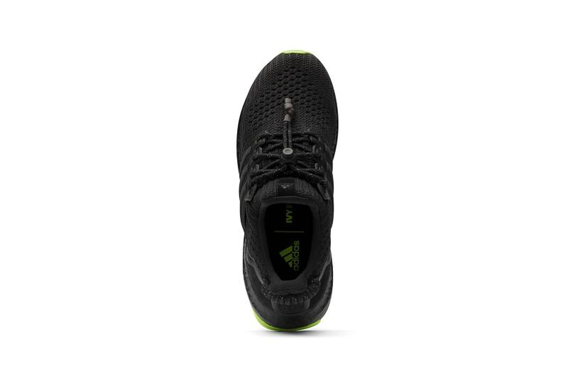 beyonce ivy park adidas ultraboost forum mid supersleek sneakers black white neon green sneakerhead footwear