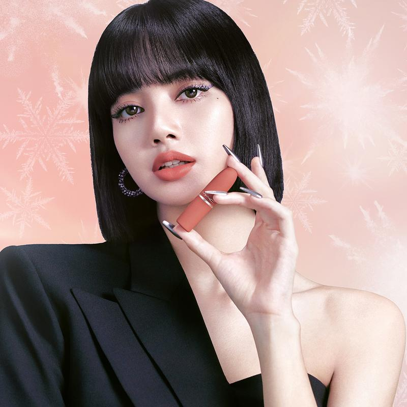 BLACKPINK Lisa MAC Cosmetics Holiday 2020 Campaign Lipstick Makeup Beauty