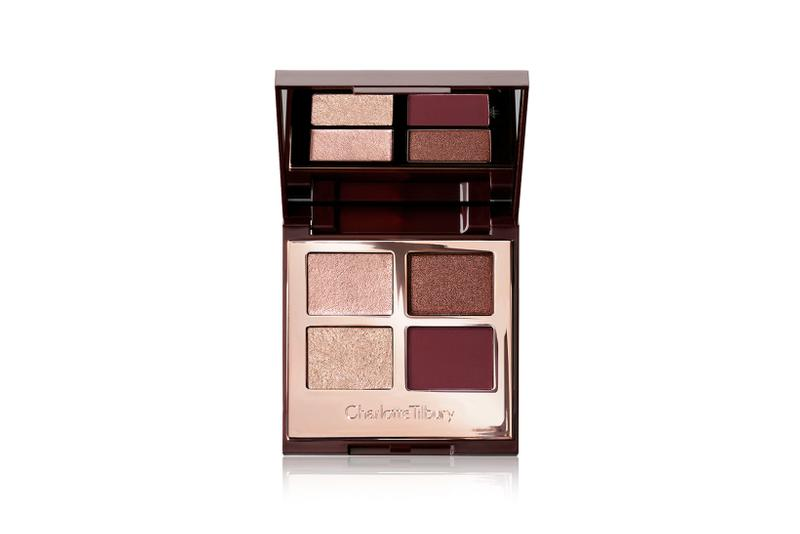 charlotte tilbury eyeshadows luxury palette fire rose eyes to mesmerise makeup