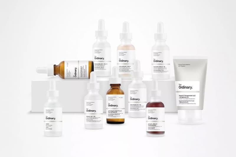 The Ordinary Skincare Products Deciem