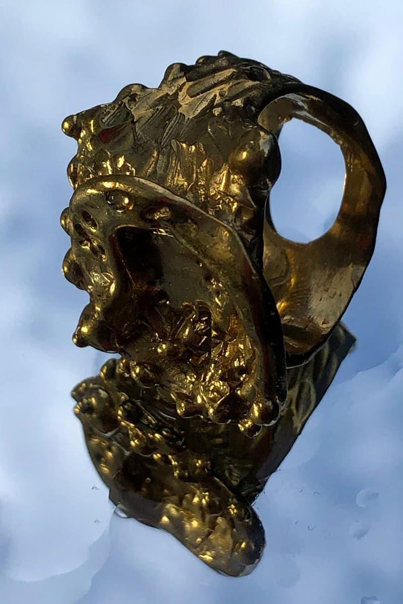 di petsa jewelry spring summer 2021 the self birth of venus lookbook gold silver bold necklaces earrings sylvie macmillan