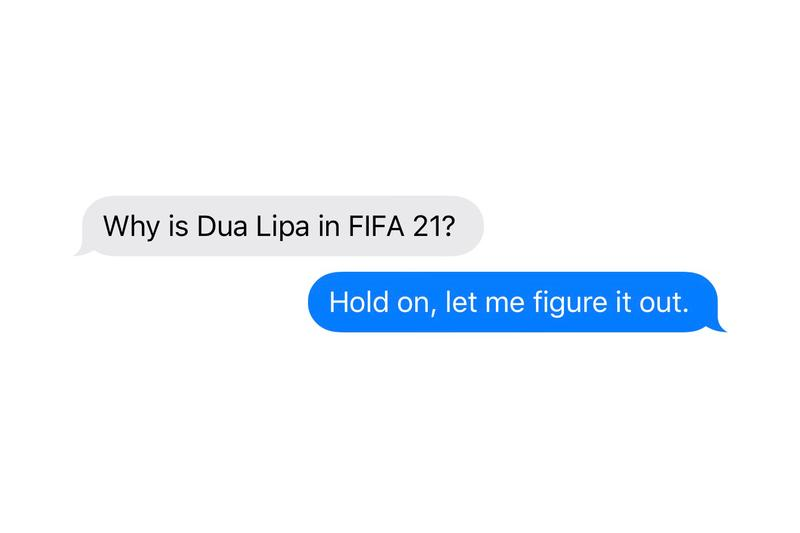 FIFA 21 Introduces Dua Lipa as Player, But No Women's Teams Women's Football Representation Op Ed Interview Gaming EA Entertainment Arts